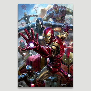 House Party Protocol HD Aluminum Metal Variant Art Print