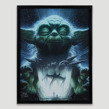 Luminous Beings Are We Art Print