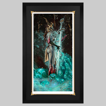 Kier: Vision of Vengeance Art Print