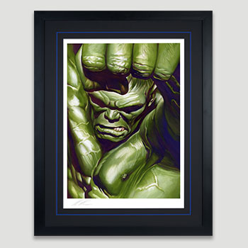 The Omega Hulk Art Print