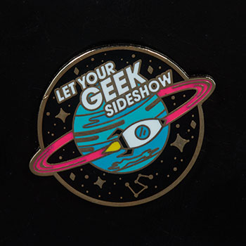 Let Your Geek Sideshow Spaceship Collectible Pin