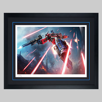 Optimus Prime: More Than Meets The Eye Art Print