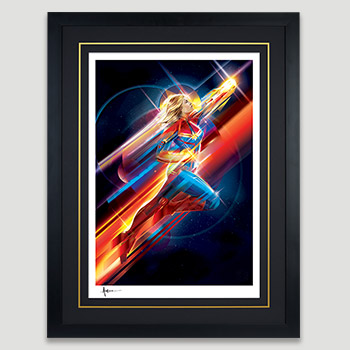Higher, Further, Faster Art Print