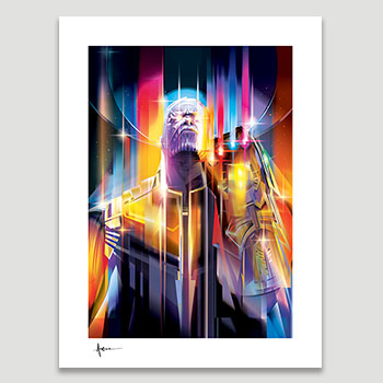 Thanos Infinity War Art Print