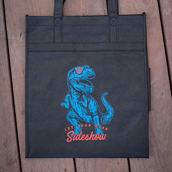 Dino Let your Geek Sideshow Tote Apparel