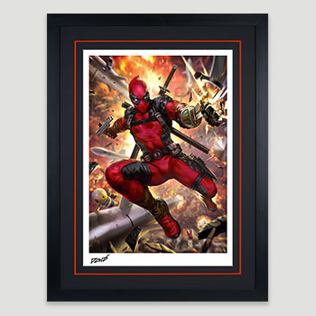 Deadpool: Heat-Seeker Art Print