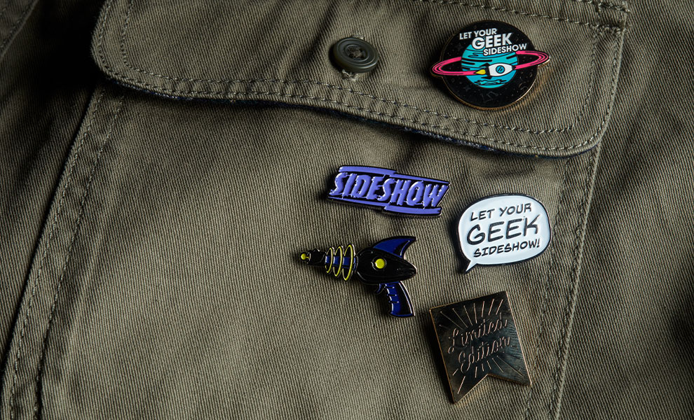 Sideshow Series 1 Pins Collectible Set