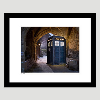 The Tardis Art Print