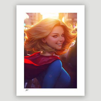 Supergirl #16 Art Print