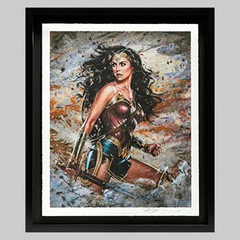 Wonder Woman: Amazon Warrior Art Print