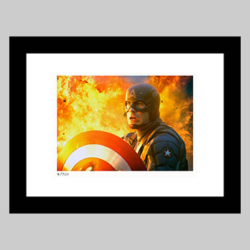 Captain America: The First Avenger Art Print
