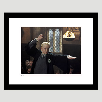 Draco Duels With Harry Art Print