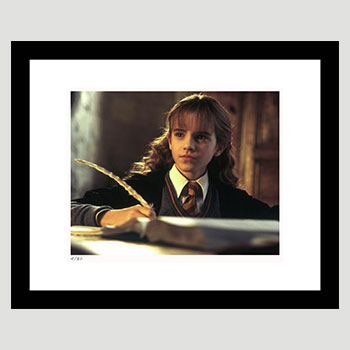 Hermione Does Homework Art Print
