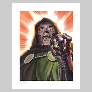 Doctor Doom Art Print