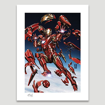 Tony Stark: Iron Man Art Print