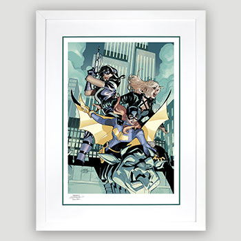 Batgirl & The Birds of Prey Art Print