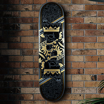 King Charles Skateboard Deck