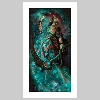 Death Ascending Art Print