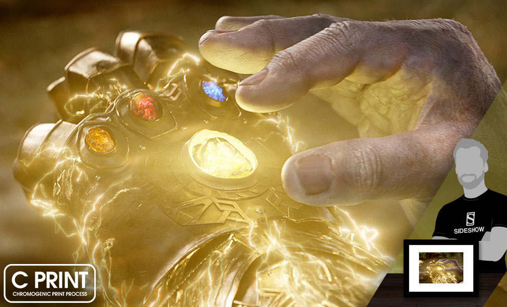 Completing the Infinity Gauntlet Art Print