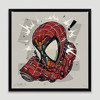 Spider-Man MECHASOUL Art Print