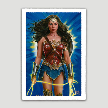 Wonder Woman: Lasso of Truth Art Print