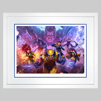 MARVEL Future Fight: X-Men Art Print
