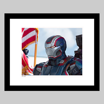 Iron Patriot Art Print