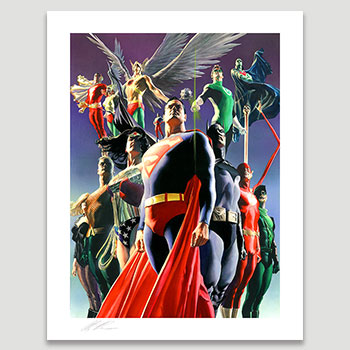 JLA: Secret Origins Art Print