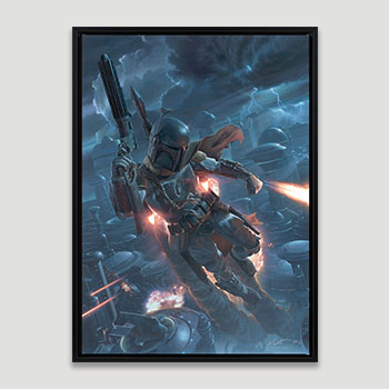 The Mercenary Art Print