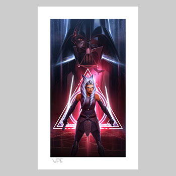 Ahsoka Tano: Between Worlds Art Print