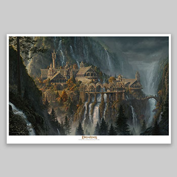 Rivendell: The Last Homely House East of the Sea Art Print