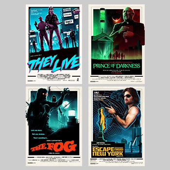 John Carpenter Editions Series Set Art Print