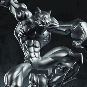 T'Challa (Vibranium Edition) Designer Collectible Toy