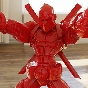 Wade Giant-Sized (Gloss Red Edition) Designer Collectible Toy