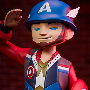 Captain America Designer Collectible Toy