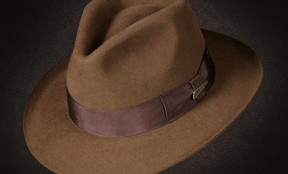 Indiana Jones Indiana Jones Fedora Apparel by Dorfman Pacific  ba5f157a18b