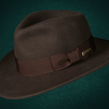 Indiana Jones Fedora - Crushable Wool Apparel