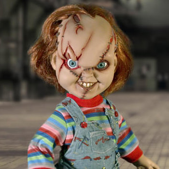 Talking Chucky Collectible Figure