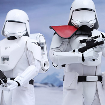 First Order Snowtroopers Sixth Scale Figure