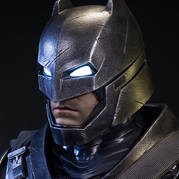 Armored Batman Polystone Statue