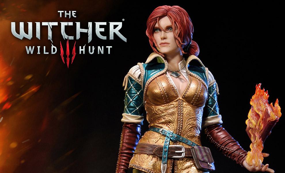 The Witcher 3: Wild Hunt Triss Merigold of Maribor Statue ...