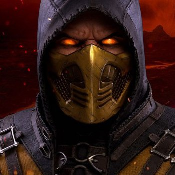 Scorpion Hellfire MKX Life-Size Bust