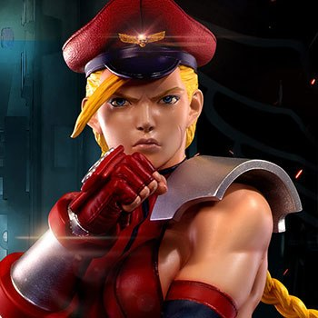 Shadaloo Cammy Dictator Statue