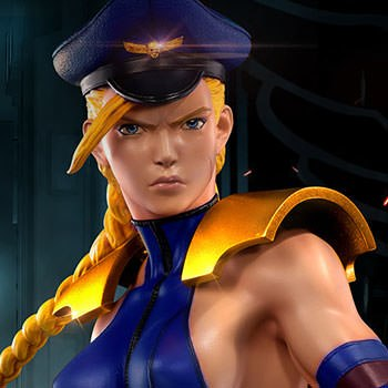 Shadaloo Cammy Player 2 Statue