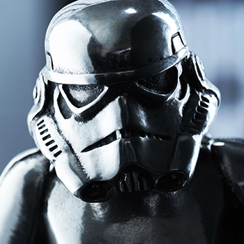 Stormtrooper Figurine Pewter Collectible