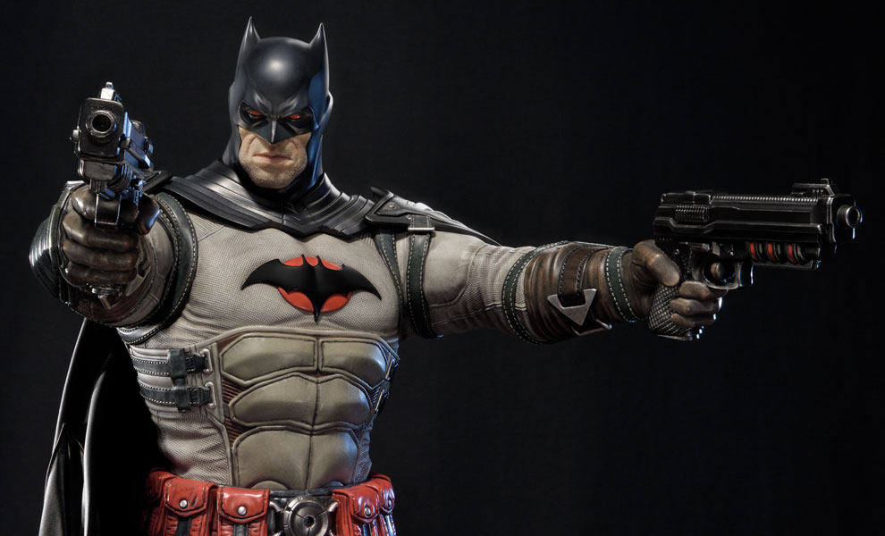 Batman Flashpoint Version Statue