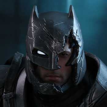 Armored Batman Battle Damaged Version Sixth Scale Figure