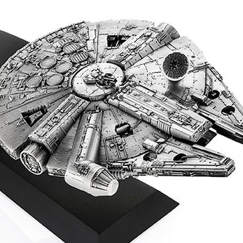 Millennium Falcon Pewter Collectible