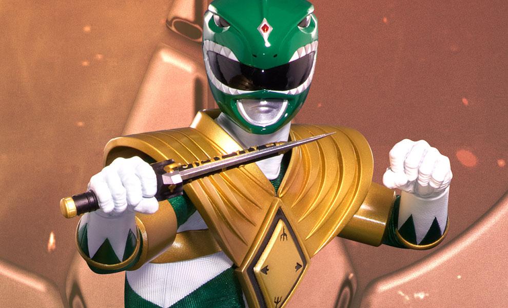 Mighty Morphin Power Rangers Green Ranger Statue by Pop Cult