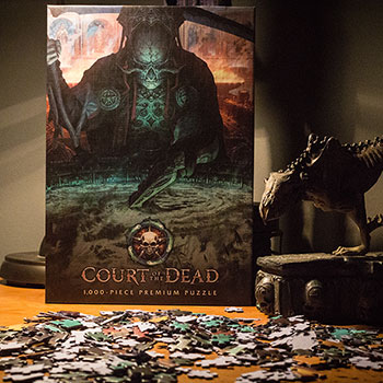 Court of the Dead The Dark Shepherds Reflection Puzzle